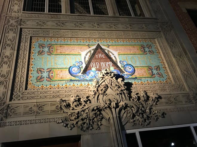 Restoration was recently completed on the exterior of the Louis Sullivan Old Home Bank Building on 3rd St, Newark.