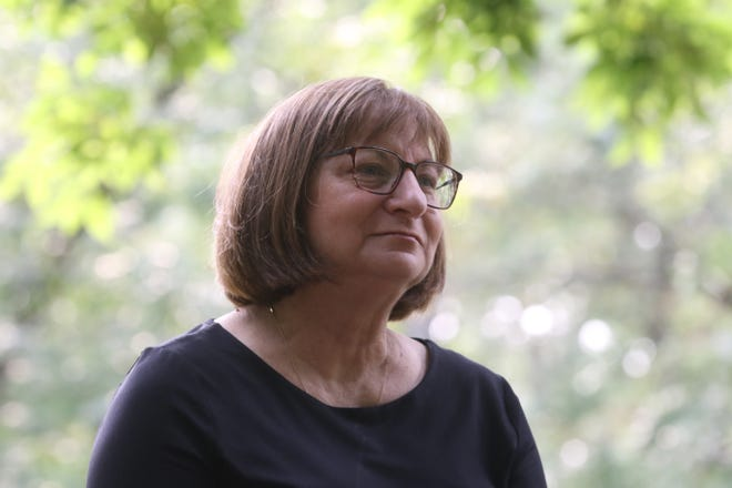 Marking the 10th anniversary of former Rutgers student and Ridgewood resident Tyler Clementi's death, his mother, Jane Clementi, sits down for an interview at Duck Pond Park in Ridgewood to talk about the event from 10 years ago that drew national attention to the issue of bullying.