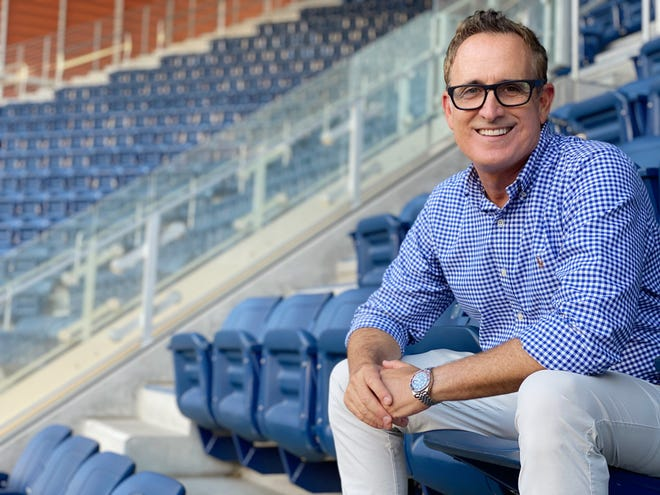 Andrew Krasny, a Palm Springs resident and the voice of the BNP Paribas Open, played a major role in the return of tennis amid the ongoing coronavirus pandemic.