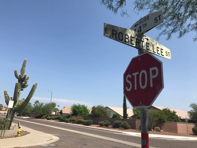 Robert E. Lee Street, which runs just south of Union Hills Drive, will soon be renamed in Phoenix.