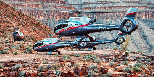Maverick Helicopters has seen a boom in domestic tours in Las Vegas but a steep drop in Grand Canyon tours, as international travel fallout continues.