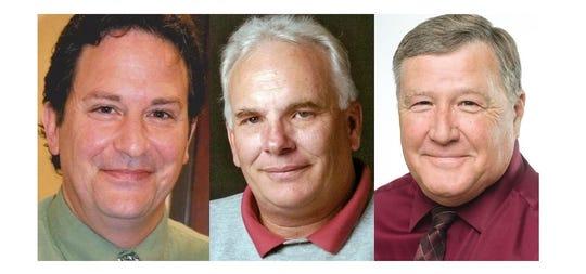 Shawn Blackburn, Mike Linquist and Kenneth Schmitt