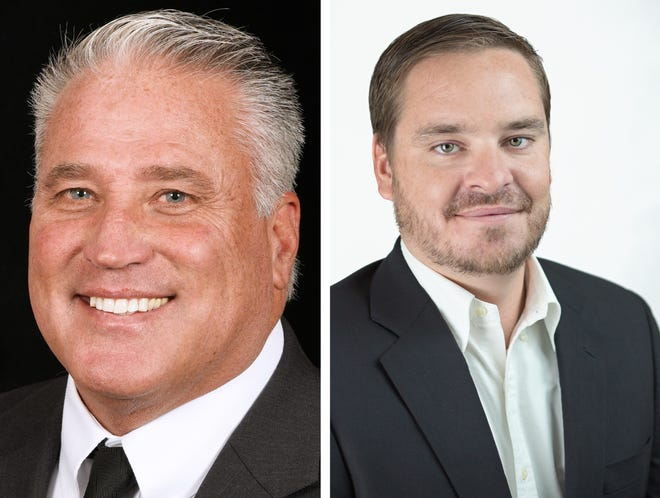 St. Lucie County Commissioner Chris Dzadovsky faces Republican Ryan Collins Nov. 3, 2020 for the District 1 seat.