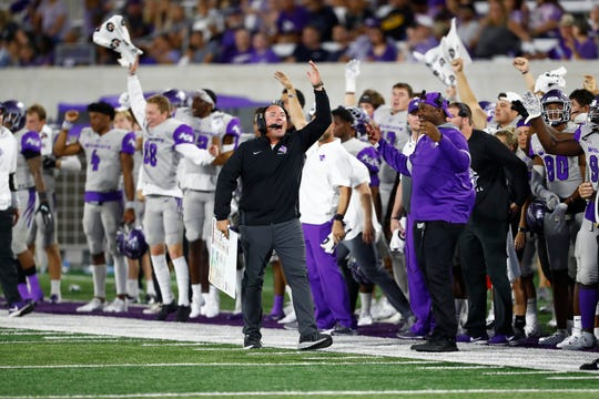 Adam Dorrel, who won three Division II championships at Northwest Missouri State in the middle of the last decade, is in his fourth year at Abilene Christian