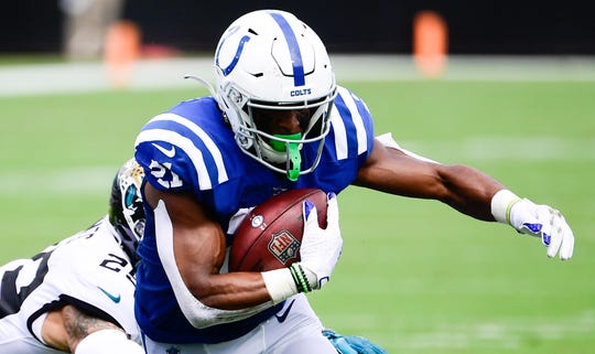 With the season-ending injury to Marlon Mack, Nyheim Hines should get more opportunities in the Colts' backfield.