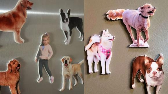 Best photo gifts of 2020: Custom Fridge Magnet Cutouts