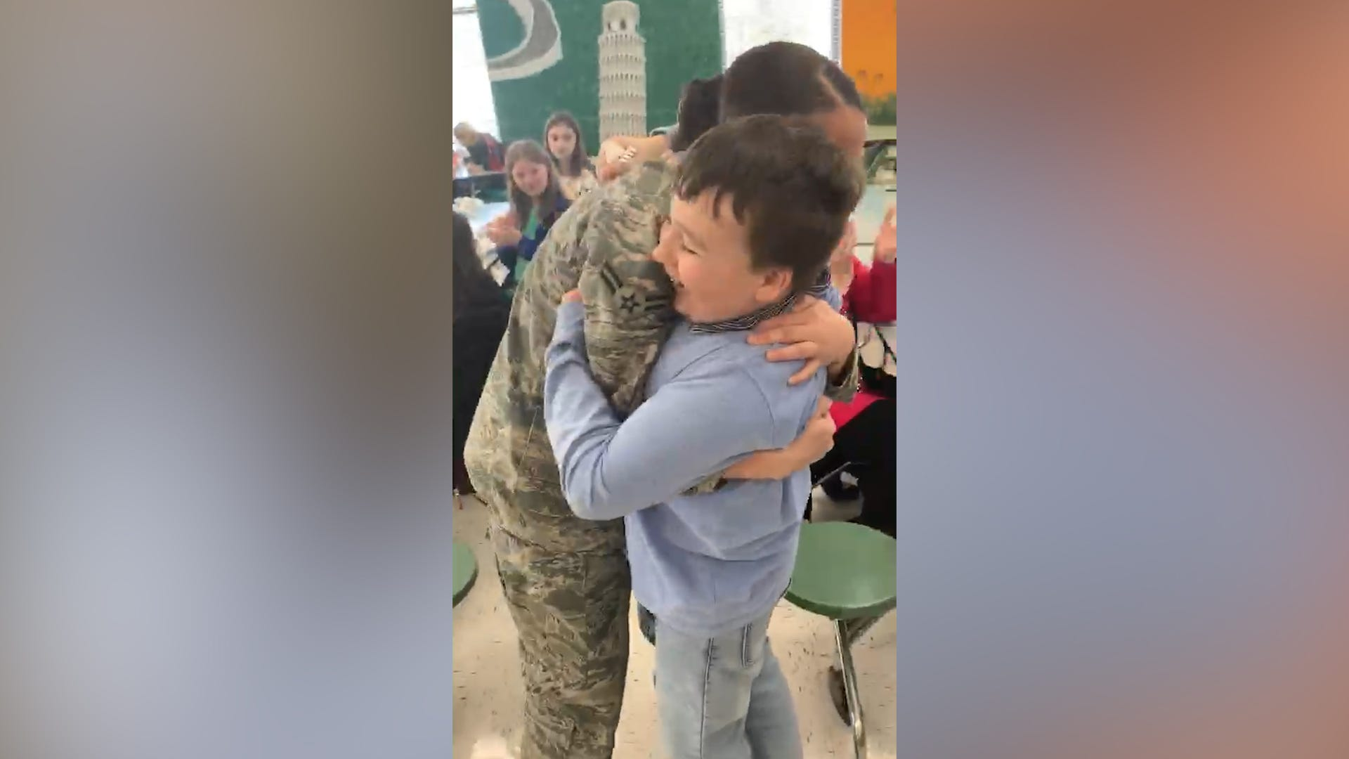 Airman makes brother's birthday wish come true