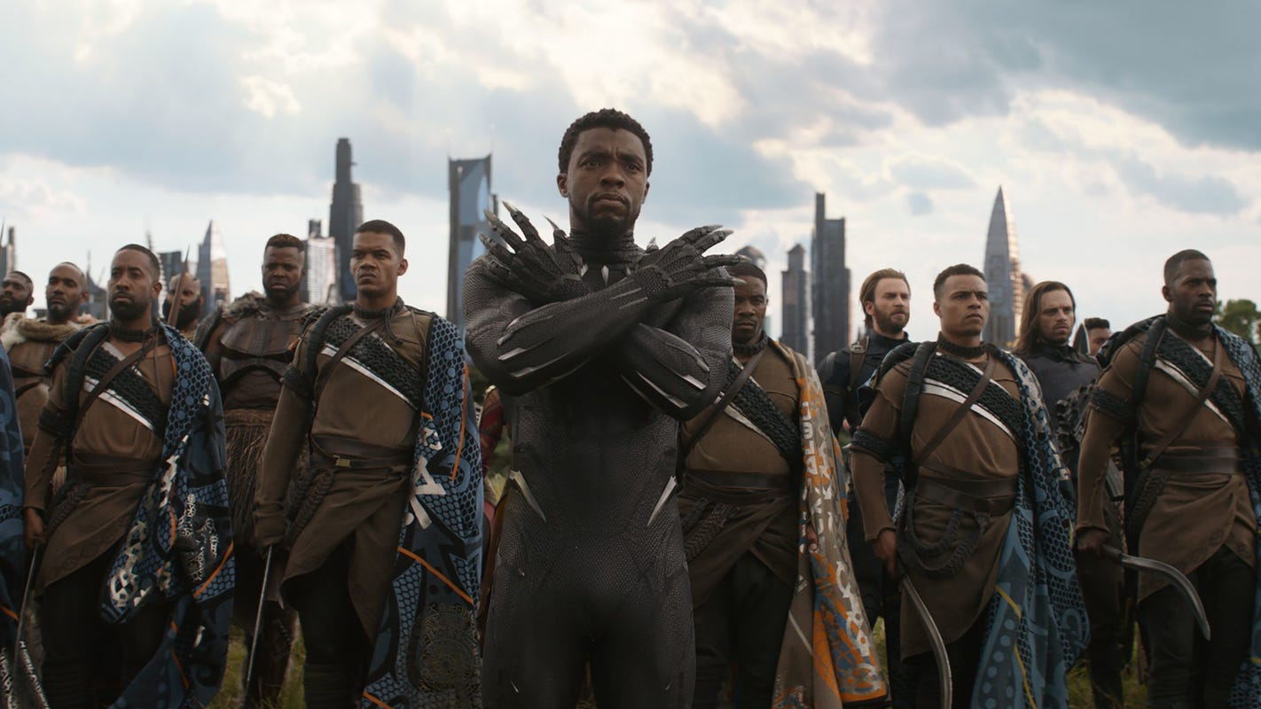 Marvel reveals 'Black Panther' sequel's title and release date in nostalgic megatrailer