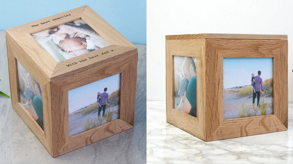 Best photo gifts of 2020: Photo Oak Keepsake Box