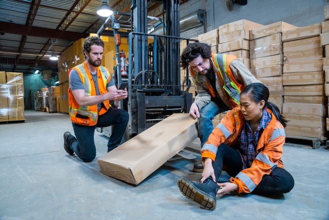 When injured on the job, employees need to work with their employer to file a claim for worker's compensation eligibility.