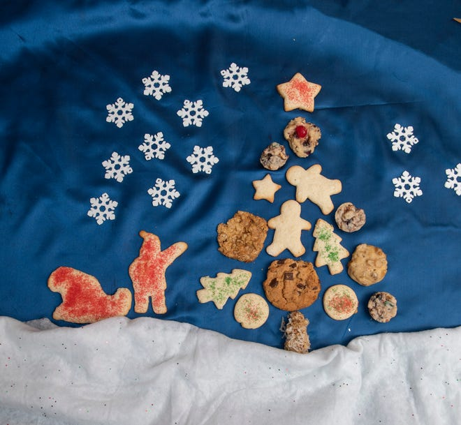The possibilities of decorating with Christmas cookies are endless.