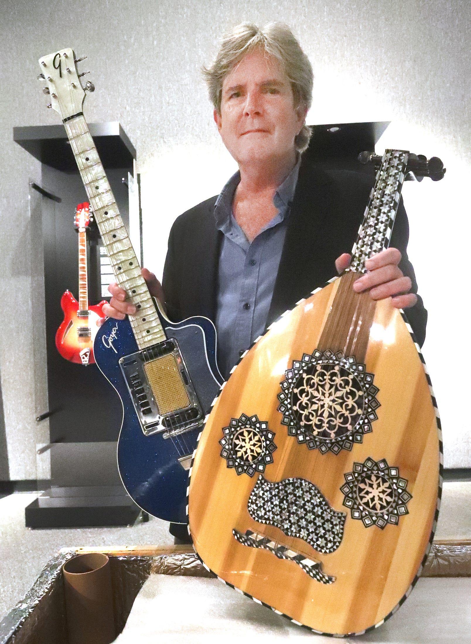 Exhibit highlights artistic development of guitars through history, at MOAS in Daytona