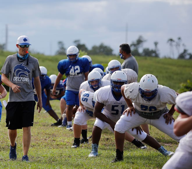 """Deltona's football team did not play its scheduled game at Lake Mary on Friday night due to """"transportation scheduling issues,"""" according to Mike Micallef, the school's principal."""