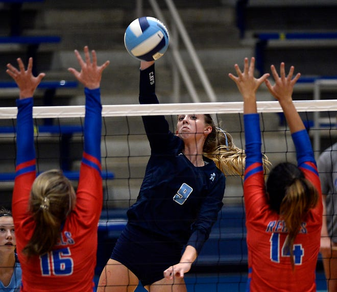 Dorman's Savannah Freeman (9) is one of the area's volleyball players to watch this season.