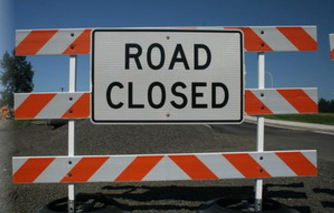Storm-related road closures