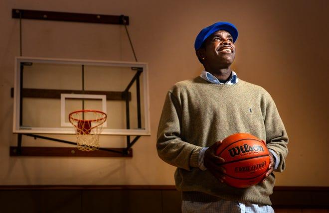 Former Oregon basketball star Kenya Wilkins during happier times.