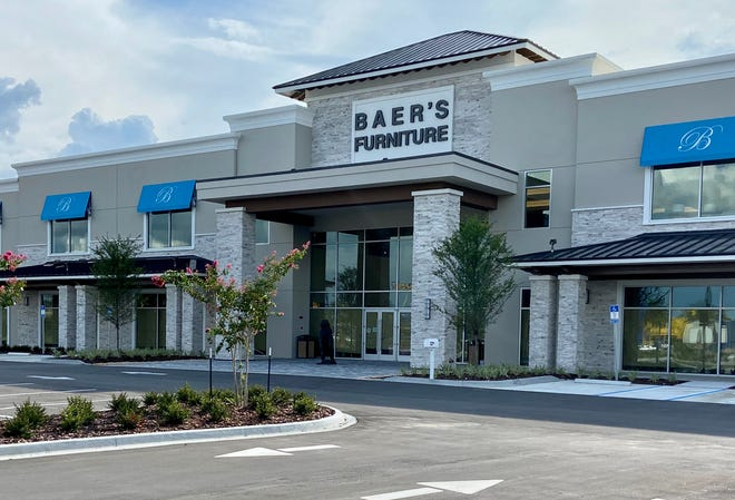 Baer's Furniture opened its newest showoom on Sept. 5 at 7760 Gate Parkway, near St. Johns Town Center.