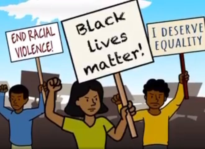Some parents in the Sarasota County school district are upset about an instructional video used to explain the history of the Black Lives Matter movement.