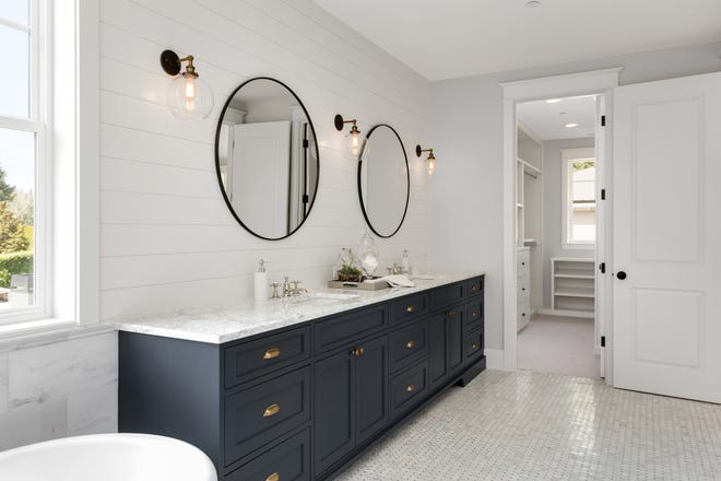 Be sure to plan for the future when thinking about a bathroom remodel.