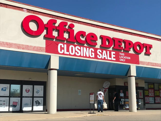 Office Depot is at 2700 W. College Ave. in Appleton.