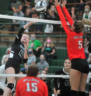 Smithville's Brooke Fatzinger and Dalton's Brennah Arnold are done playing against each other, but hope to lead their teams even deeper into the playoffs this week.