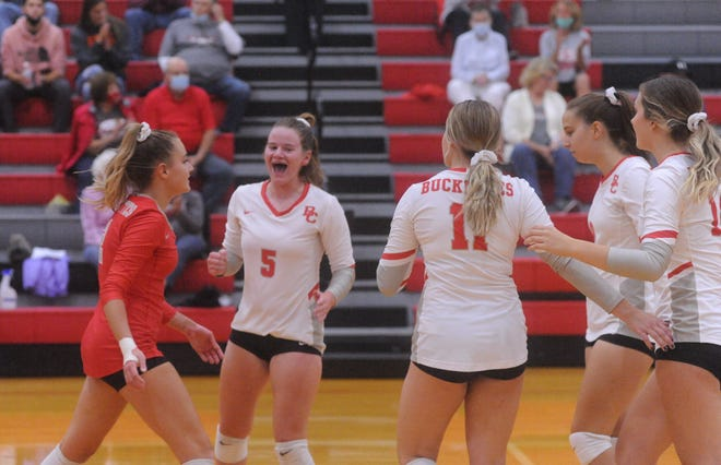 Buckeye Central notched a big win over Division II Bellevue on the road Saturday afternoon.