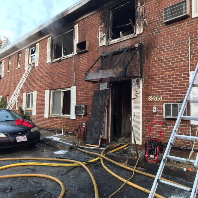 One person died and two others were injured, officials said, in the Nov. 19, 2019 fire at 3205 Gobel Ave. in Westwood.