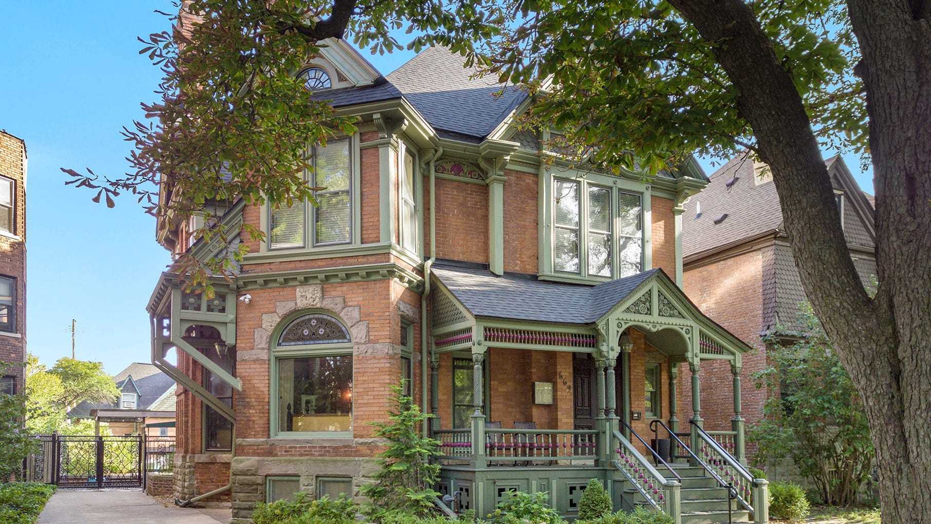 Home and carriage house are right out of 1870s Detroit