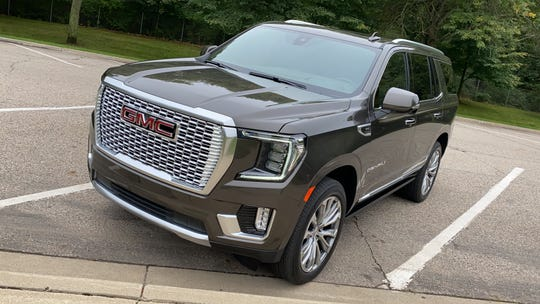The 2021 GMC Yukon Denali is larger and more roomy than the 2020 model, thanks to a new architecture and independent rear suspension.