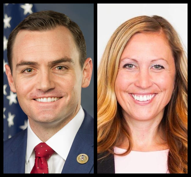 U.S. Rep Mike Gallagher of Green Bay takes on state Rep. Amanda Stuck of Appleton for the 8th Congressional District seat.