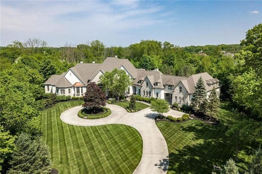 This sprawling mansion in Fishers belongs to Celtics star Gordon Hayward.