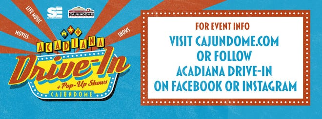 """The """"Acadiana Drive-In,"""" a 50's style drive-in movies and entertainment event hosted at the Cajundome parking lot, has been rescheduled to October due to hurricanes Laura and Sally causing delays inboth event production and supplies."""