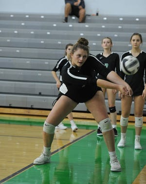 Clear Fork's Bekah Conrad collected 13 kills in a 3-0 win over Marion Harding.