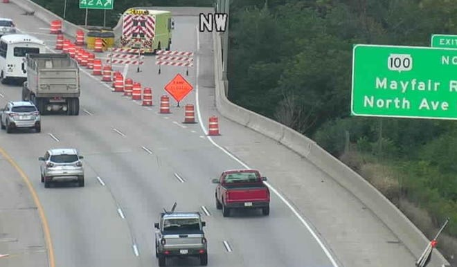 A fatal crash at North Mayfair Road and West North Avenue on Sept. 18 closed the exit ramp on 1-41.