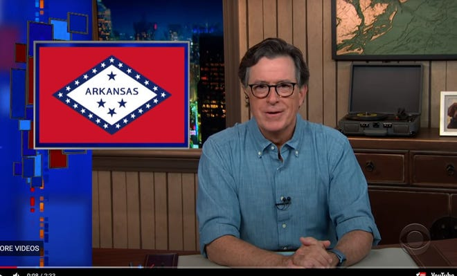 Arkansas was recently featured on Stephen Colbert's 'Better Know A Ballot' series on state-by-state voting information.