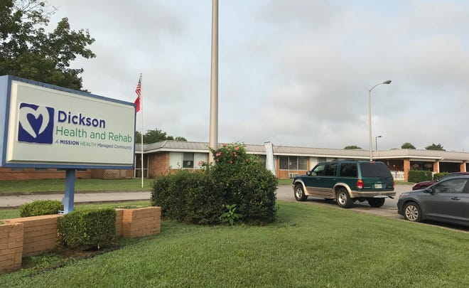 The Dickson Health and Rehab senior health facility in Dickson.