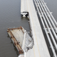 Aerial photos shot from a drone taken for the USA Today Network show the extent of the damage to the 3 Mile Bridge from Hurricane Sally.
