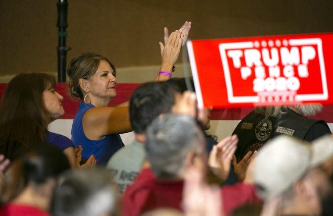 Arizona GOP Chair Kelli Ward at a September party event.