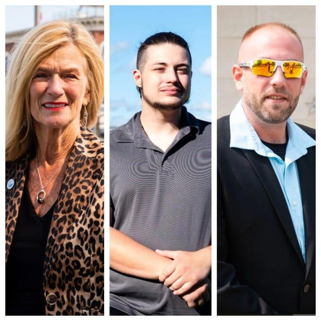Incumbent Pauline Repp, Nicholas LaBonte and DJ Palm are running for Port Huron mayor.