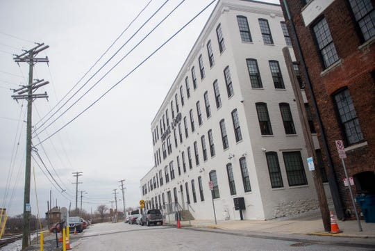 This is outside the Think Loud building at 210 York St. On Sept. 24, Kinsley Construction obtained a $13 million judgment against 120 York LLC, which owns the building. Right now, Think Loud Studios, United Fiber & Data and YRK Magazine are tenants inside the building.
