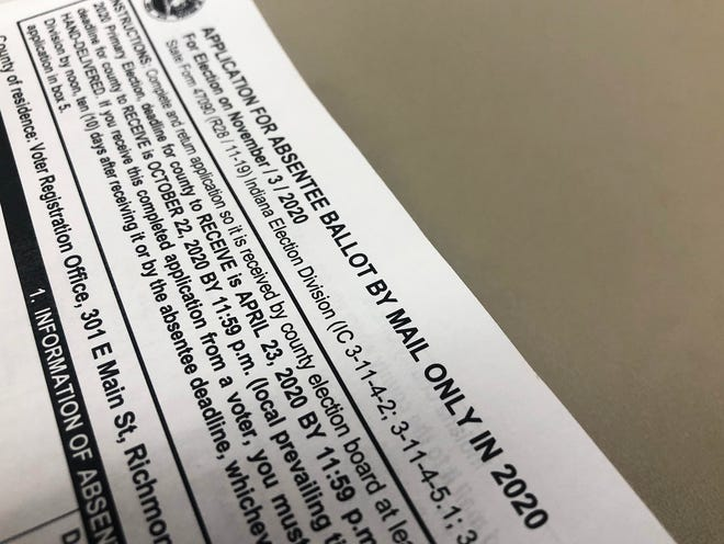 Anyone who requested a mail-in absentee ballot for the general election needs to send that back to the Wayne County Clerk's Office as soon as possible, according to Clerk Debra Berry. Those must be received at the office by noon on Election Day (Nov. 3) to count.