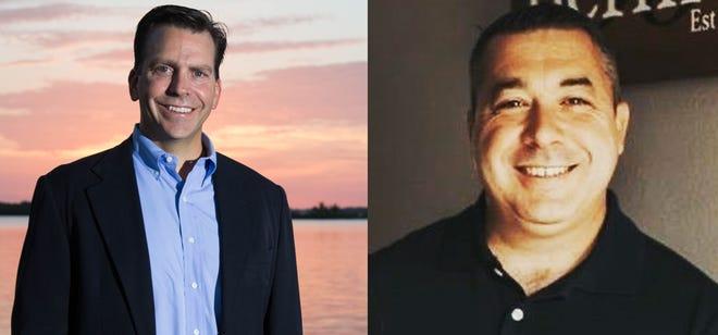 "State Rep. Toby Overdorf, R-Palm City, faces Edgar ""EJ"" Bernier, a Port St. Lucie Democrat for District 83."