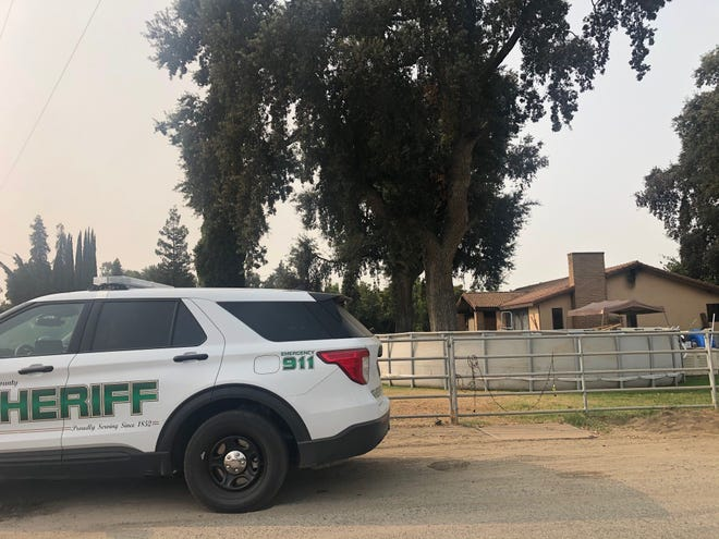 A 4-year-old child died in a fire early Friday morning near Ivanhoe.