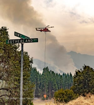 SQF (Sequoia) Complex Fire has affected the communities of Alpine Village, Sequoia Crest, and Doyle Springs. It's reported that 62 structures were damaged or destroyed in the fire.