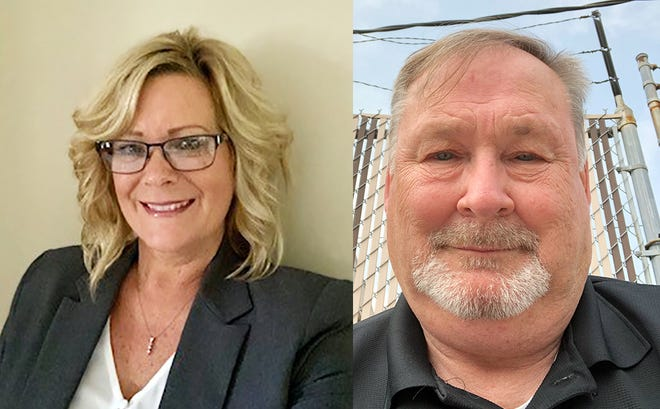 Wendy Sowers and Greg Ritterbeck are running for Muskingum County Clerk of Courts in the Nov. 3 election.