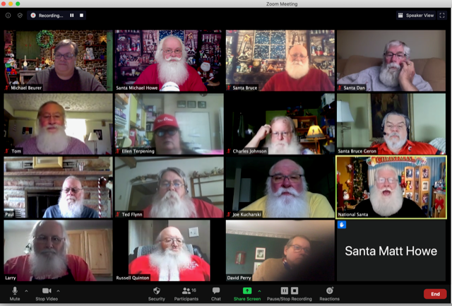 Want to Zoom with Santa Clause during the COVID-19 pandemic? Get ready to open your wallet