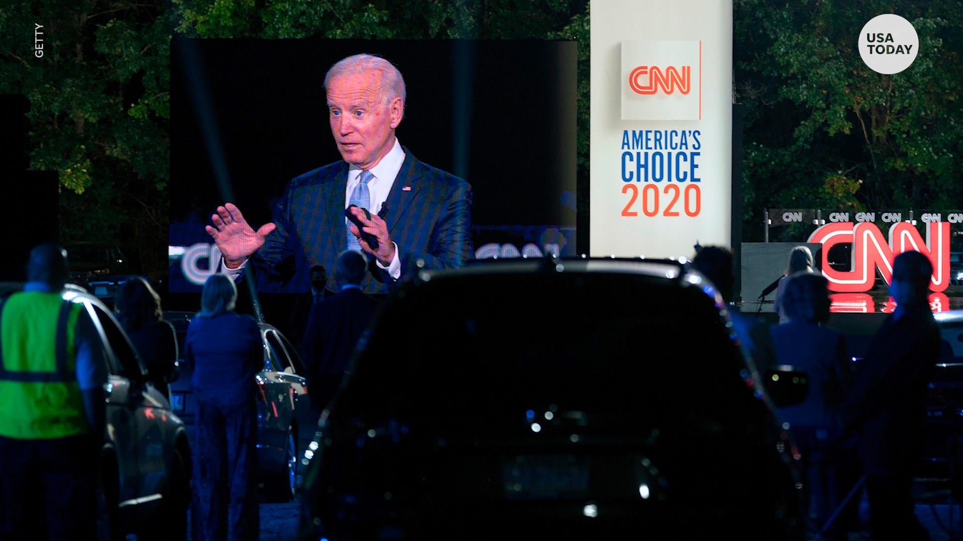 Biden says presidential election a battle between 'Scranton and Park Avenue'