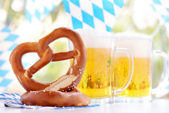 Oktoberfest is canceled in Munich, Germany this year because of the pandemic, but you can still celebrate at home.