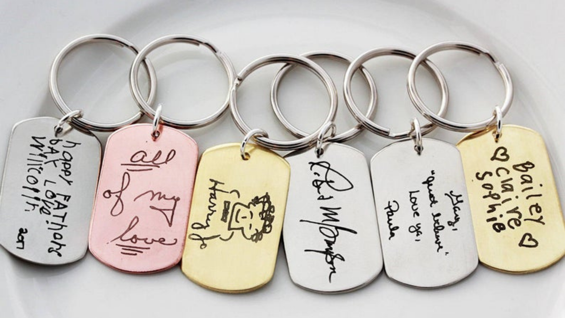 Couples Keychain Best Friends His And Her Keychain Custom Keychain Personalized Keychain Set Engraved Keychain Personalized Gift