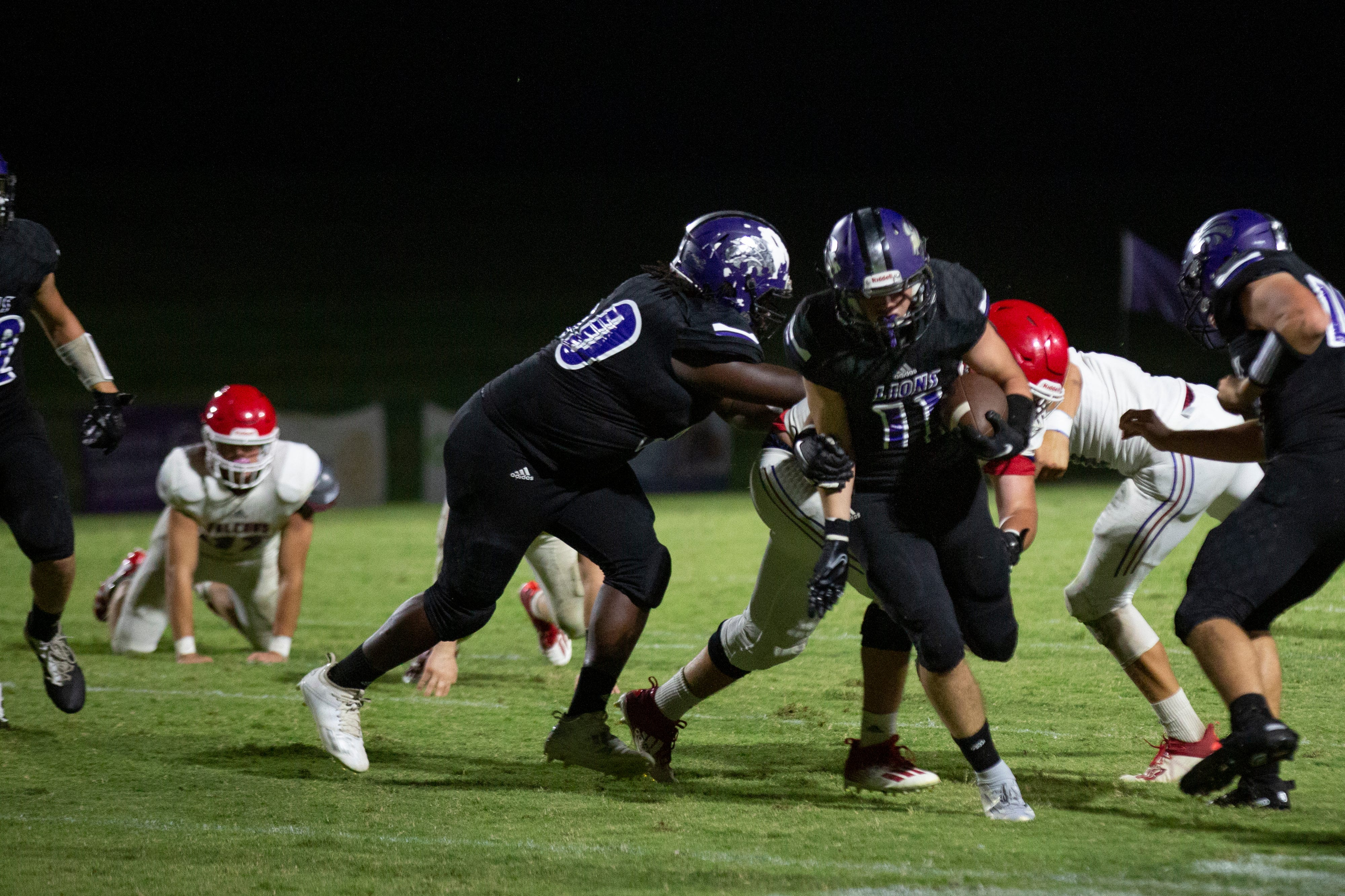 Football Highlights: Columbia Central 30, Lincoln County 21